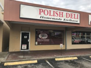 Polish Delicatessen – Homemade Kielbasa 1322 West North Blvd., Leesburg, FL 34748 If you're craving authentic Polish food, meats and savory Polish dishes come to Polish Delicatessen in Leesburg, FL. They freshly prepare finely cured meats and our mouth watering homemade kielbasa is a local favorite. Whether you're looking to stock up on some pierogi or you want some European meats for a celebration, this deli offers a huge selection of authentic cuisine you'll love. Polish Delicatessen in Leesburg, Lake County offers a wide selection of homemade Polish kielbasa and cold cuts. Among other Polish foods, the deli offers homemade sausages, cold cuts and pierogis. The stuff speaks Polish and Russian. Call or visit today! Polish Delicatessen to sklep spożywczy w Leesburg oferujący bogatą selekcję domowej żywności europejskiej w okolicy, między innymi polskie wędliny, kiełbasy i inne wyroby spożywcze. Personel sklepu mówi po polsku i po rosyjsku. (352) 365-1747 http://www.homemadekielbasa.com
